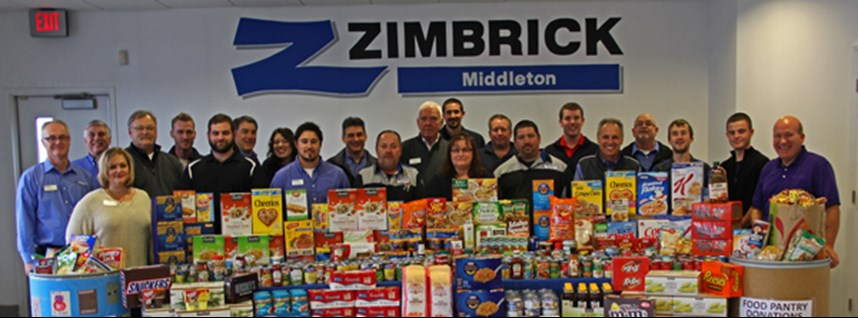 Zimbrick Middleton makes largest donation in their history