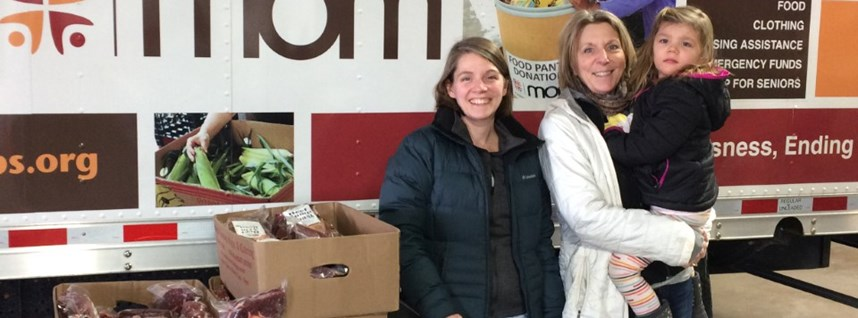 Local Farmers Support Local Food Pantry